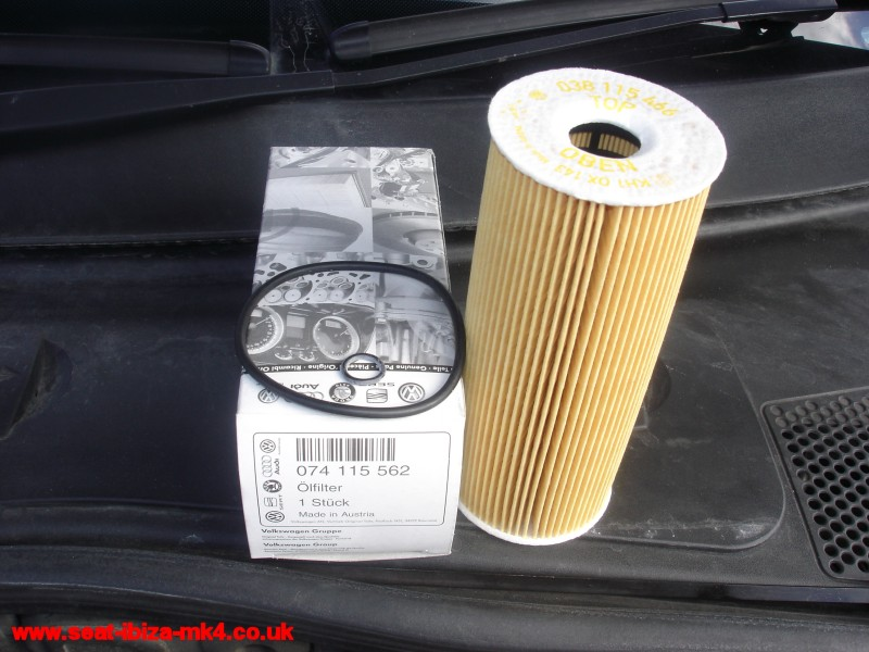 Cheap Oil Change >> Seat Ibiza Mk4 TDI oil and filter change